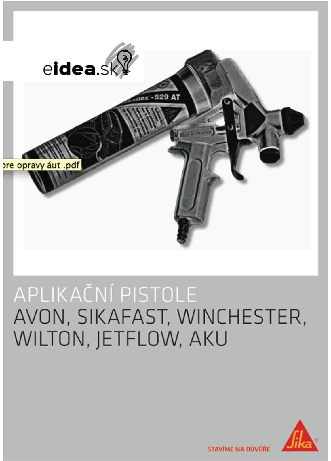 Katalog Pistole